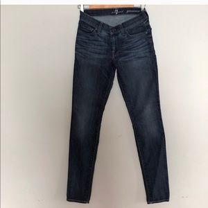 LIKE NEW 7FAMK Gwenevere Skinny Jeans